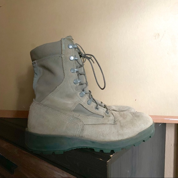 Urban Outfitters Other - Army Boots Size 9 Green Black